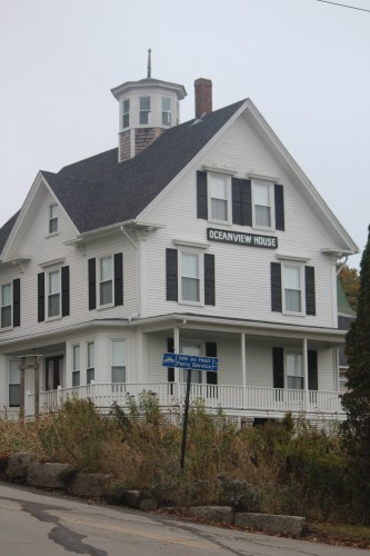 Closed for the winter: Oceanview House.