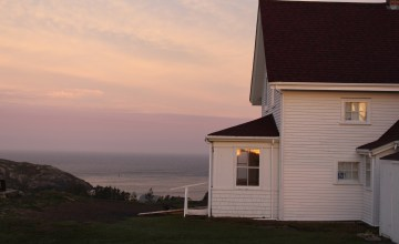 Daybreak: Lighthouse hill, Monhegan