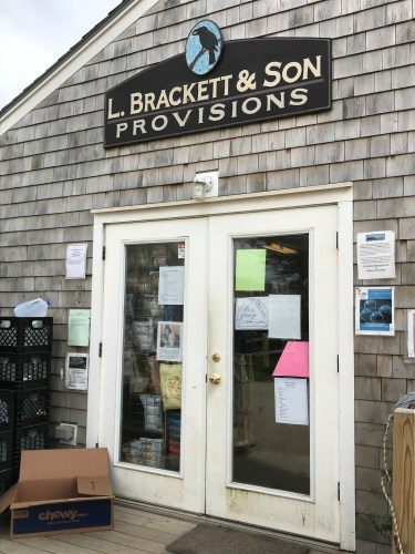 Monhegan's General Store, home of hot coffee and breakfast sandwiches!