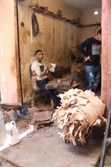 Working in small spaces: Marrakech Medina