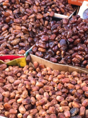 Dates for sale in Marrakech