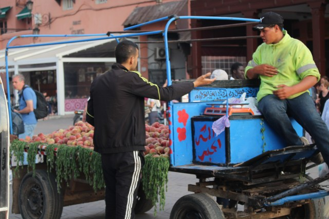 Give me a flatbed, and I'll deliver you some produce -- open and airy transportation, for sure.