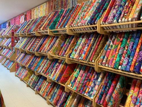 Kaffe Fassett fabrics at Tennessee Quilts in Jonesborough TN