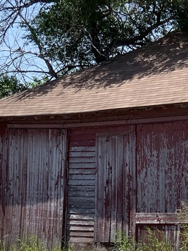Old house, Scenic SD