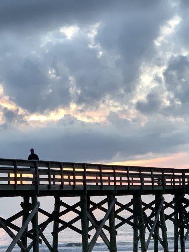 Pawleys Pier at sunrise, Pawleys Island SC