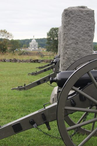 Cannons near State of PA Memorial, Gettysburg