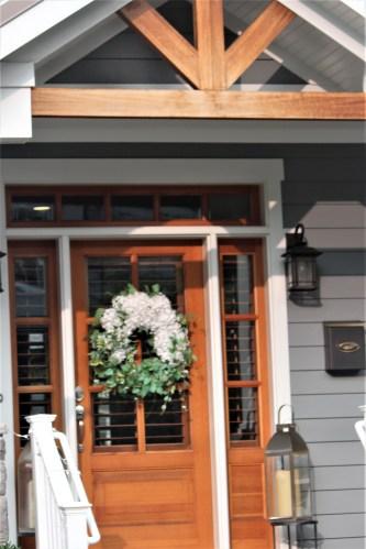 Orange door, Annapolis MD