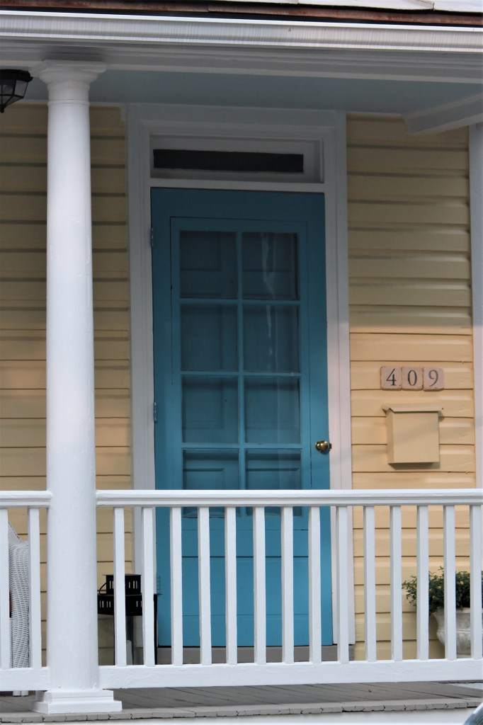 Blue door house, Annapolis MD