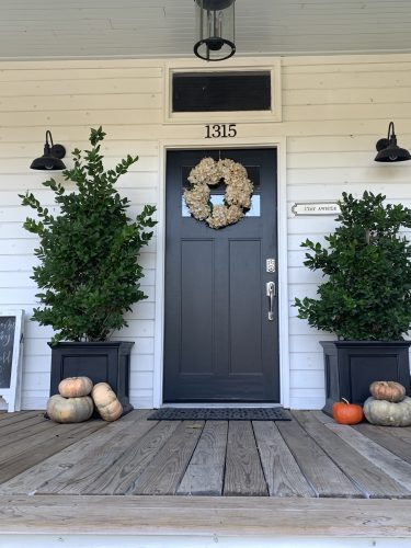 Front Door: My 100 Year Old Waco Home