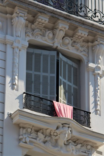 White window in Lyon