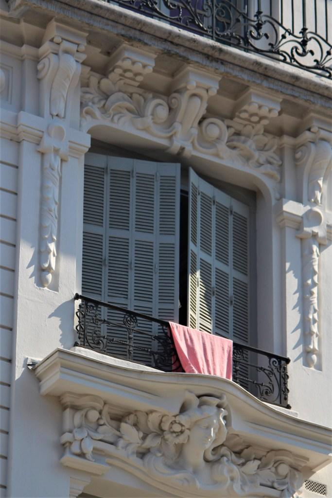 White window in Lyon