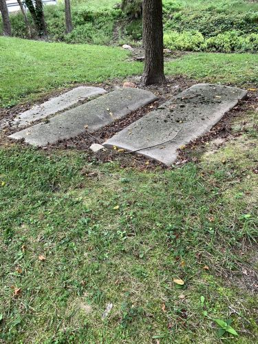 Graves at John Wesley ME Church, Oxford Neck MD