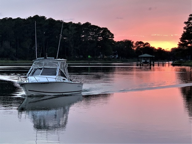 Sundown on Onancock Creek, VA