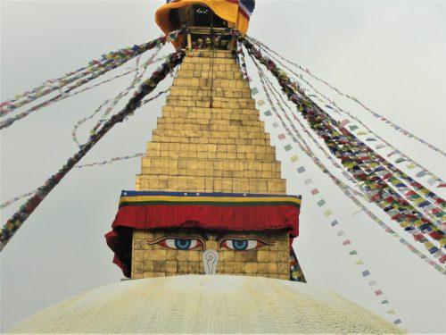 Boudhanath Stupa outside Kathmandu, Nepal