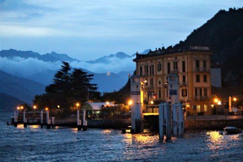 Evening in Varenna, Italy