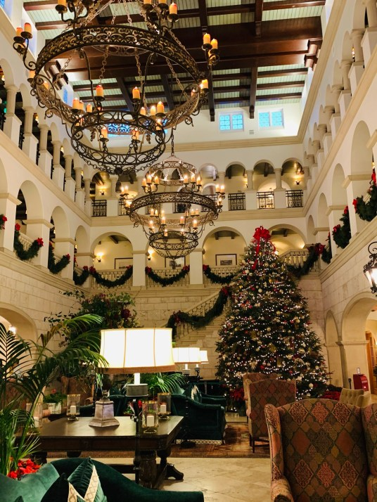 Lobby at The Cloister at Sea Island