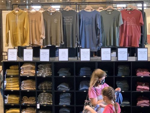 Magnolia Market colored t-shirts