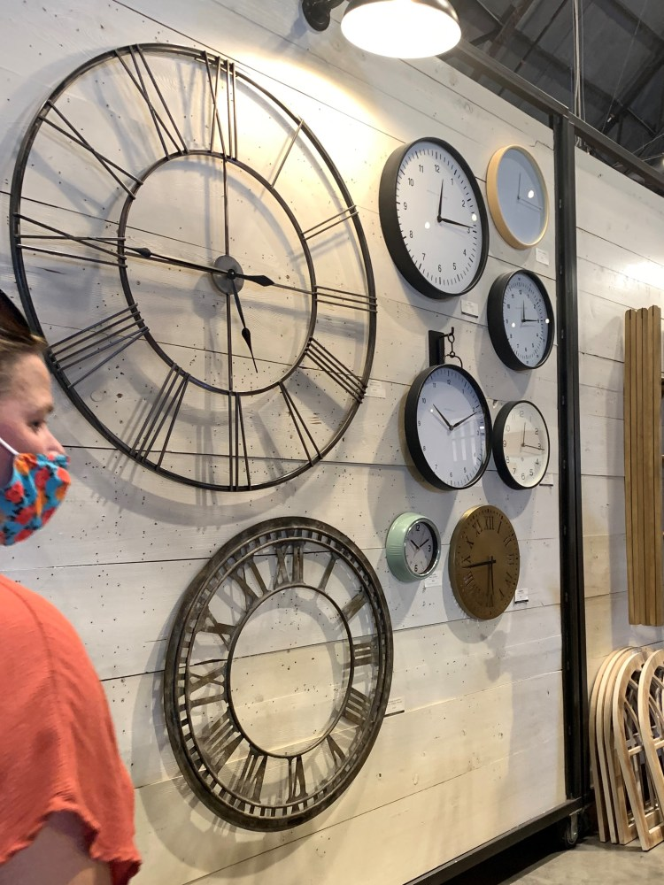 Wall clocks, Magnolia Market, Waco TX
