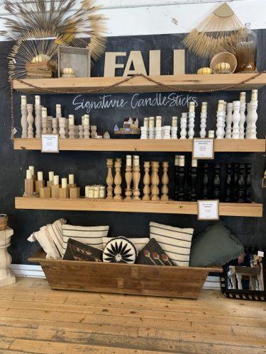Fall decorations, Clint Harp Design, Waco, Texas