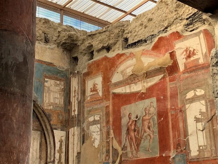 Wall Painting in Herculaneum