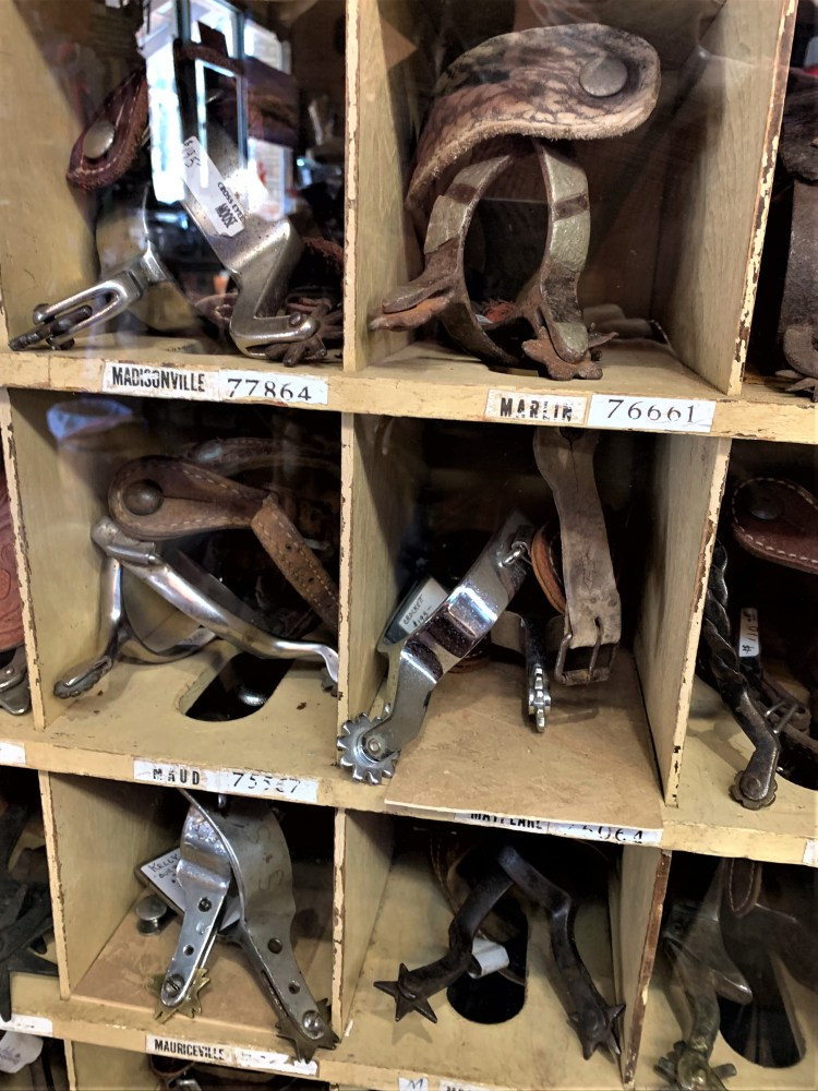 Spurs -- Cross-Eyed Moose, Ft. Worth Stockyards