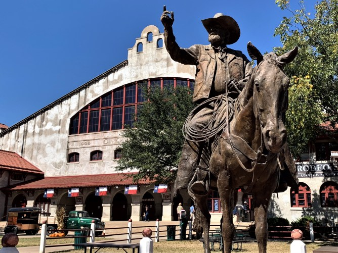 Ft. Worth Stockyards rodeo central