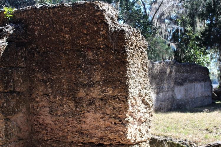Wormsloe tabby ruins