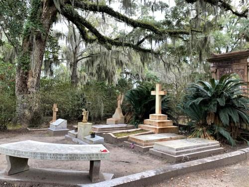 Bonaventure Cemetery - Johnny Mercer's gravesite