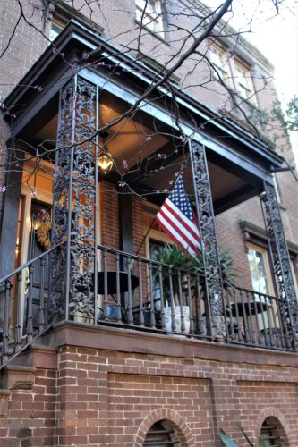 Savannah GA balcony