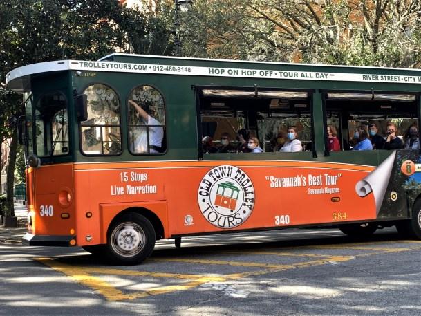 Savannah GA - Old Town Trolley