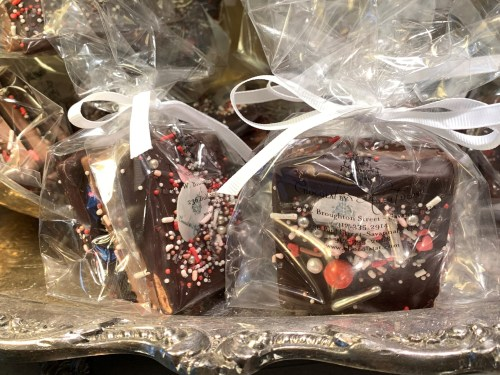 Wrapped chocolates, Chocolat by Adam Turoni, Savannah