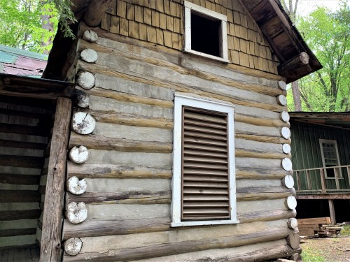 Elkmont log construction, Sneed Cabin, Great Smoky Mountains