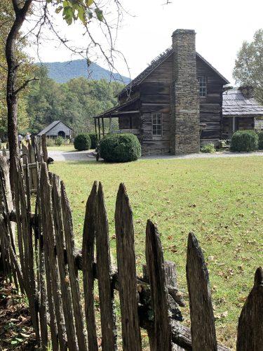 Oconaluftee cabin in Cherokee, NC