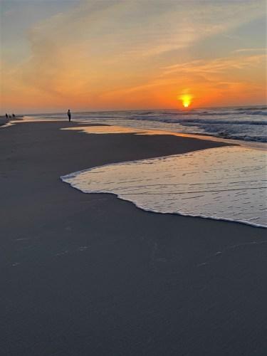 Sunrise at Pawleys Island, South Carolina