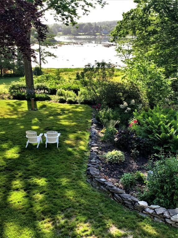 Garden at Newcastle Inn, Newcastle, Maine