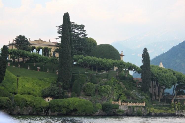 Villa on the water at Lake Como, Italy