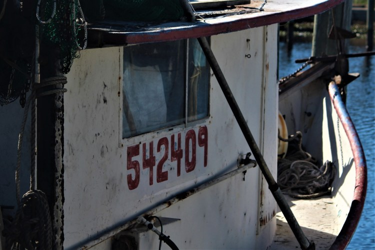 Shrimp Boat at Mill Pond, Apalachicola FL