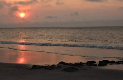 Sunrise with clouds Pawleys Island SC