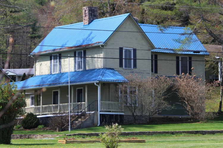 Main House, Mast Farm Inn, Valle Crucis, NC