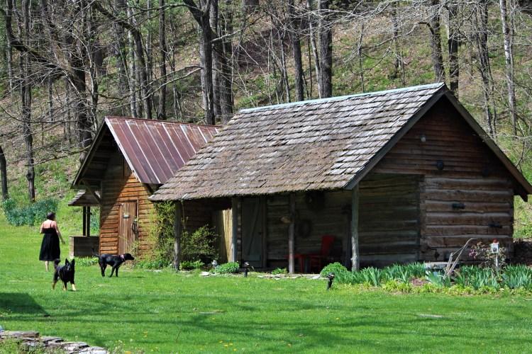 Rental cabin, Mast Farm Inn, Valle Crucis, NC