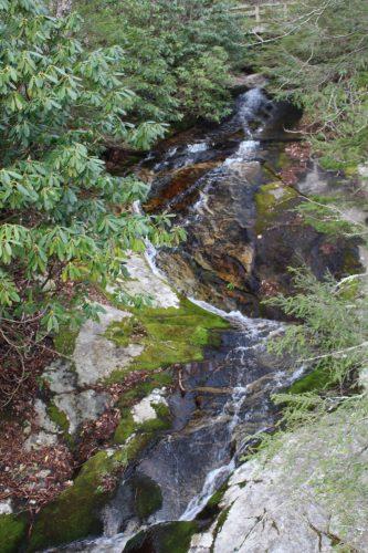 Waterfall on Blue Ridge Parkway