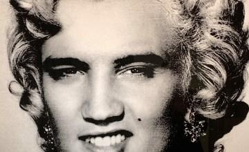 Elvis/Marilyn by David Scheinmann, 2013
