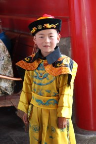 Boy at Forbidden City, China