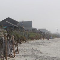 Remembering the Gray Man:  Foggy morning walk at Pawleys