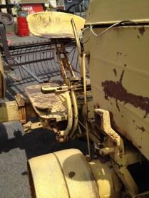 Rusty tractor, Spokane