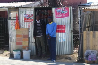 Temporary store in Lesotho? Perhaps.