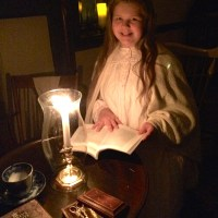 Seeing light even in the dark:  Candlelight Tour at Knoxville's Ramsey House
