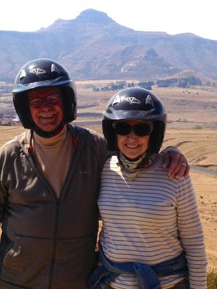 At the halfway mark, we were still intact. Note the scenery we saw on the way.