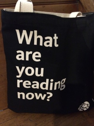 Great question for the back of the NYPL tote bag. What's your answer?