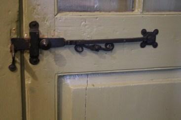 Hinged door, Madame John's Legacy, French Quarter
